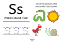 SOE Store Kids Phonics Flash Cards for Kids (Wipe Clean Reusable Learning and Educational Game)