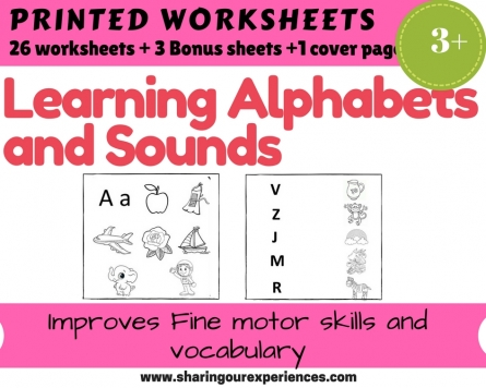 Learning Alphabets and sounds