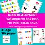 SOE Store Kids Multiple Brain Development Activities for 3+ years PDF
