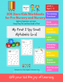 SOE Store Kids I spy Small Alphabets Activity Book for Kids 26 Pages Activity Book for Toddlers (Preschool Worksheets for Kids (2-5 Years Nursery Toddlers Preschool prenursery)