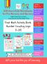 SOE Store Kids Preschool Nursery First Math activity book