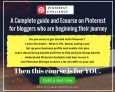 Pinterest Challenge – A Complete Ecourse on Pinterest for beginners   Get started today