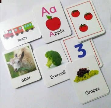 SOE Store kids Educational Flash cards Combo for kids Complete learning pack Flashcards for kids. Learn alphabets (ABC), numbers (1- 20) animals fruits vegetables transportation + Reusable activities