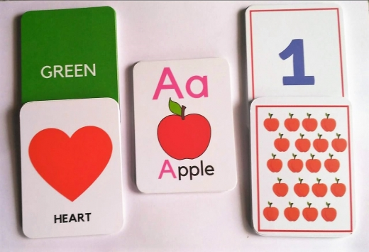 SOE store number counting alphabets colours and shapes flashcards