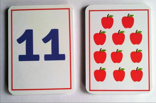 SOE store number counting flash cards for kids
