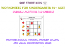 Sudoku for kids PDF downloadable worksheets activities