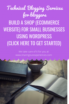 Build ecommerce website for small business Technical Blogging Services (1)